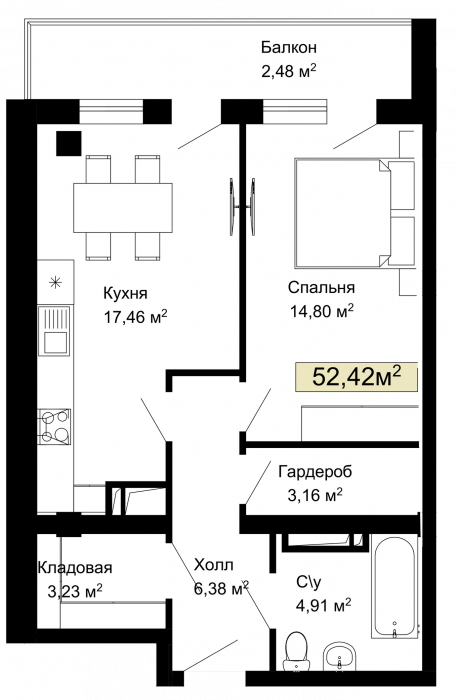 003, 006, 009, 012, 175. 178, 181, 184 планировка квартир жк Колумб Одесса