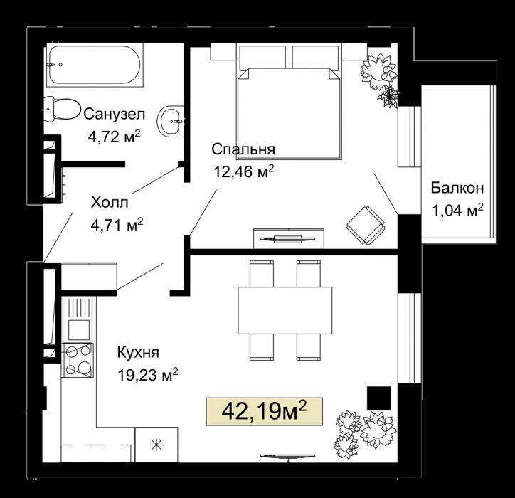 005, 008, 011, 014, 173, 176, 179, 182 планировка квартир жк Колумб Одесса