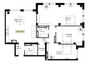 041, 046, 051, 215, 220, 225 планировка квартир жк Колумб Одесса