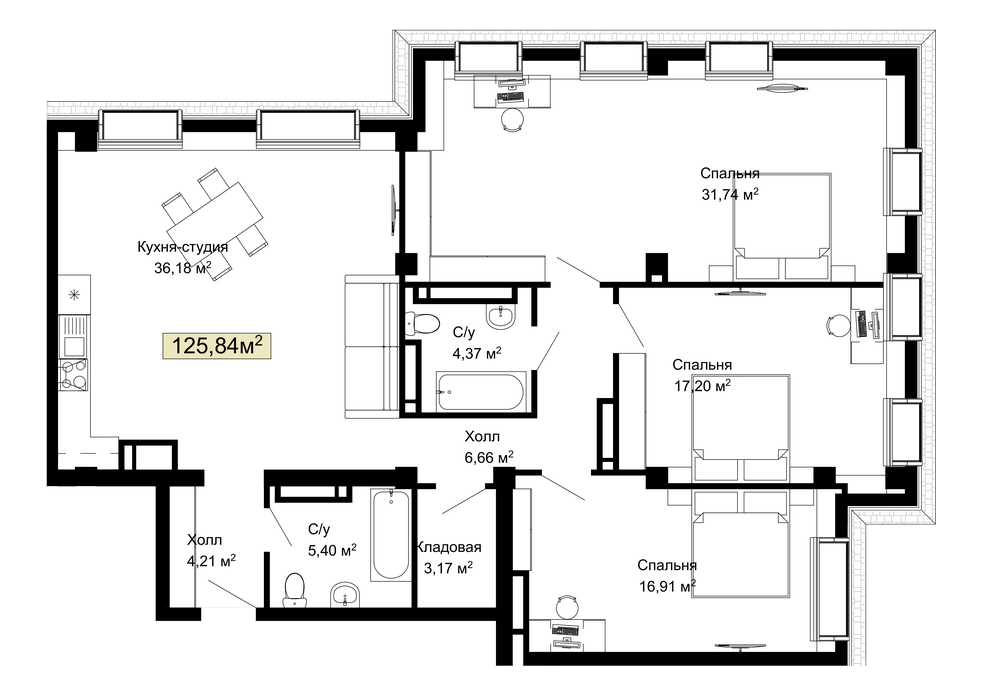 056, 230 планировка квартир жк Колумб Одесса