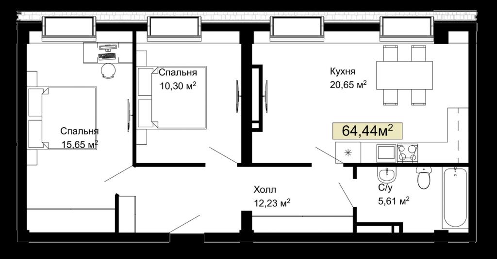 114, 168 планировка квартир жк Колумб Одесса