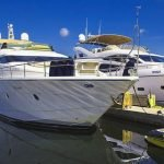 Стоянка для лодок и катеров